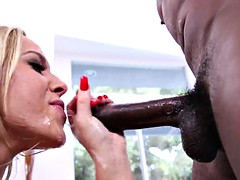 lecherous olivia face fucked by a bbc got her face covered with cum in pov