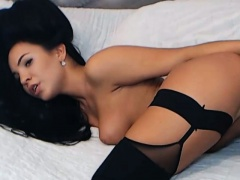 Latina Dildo Fucks her Pussy