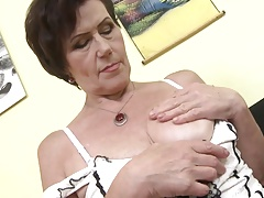 Granny Ryanne still wants a good fuck