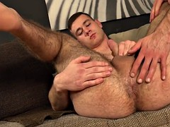 hairy gay gaping and cumshot