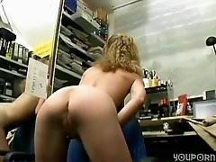 German amateur lady paid to do a porn scene - Sascha Production