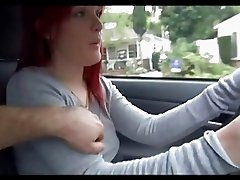 Mariah Mars Gives Herself A Ride