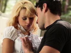 ultra sweet blond and her boyfriend