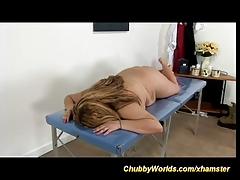 chubby anal massage